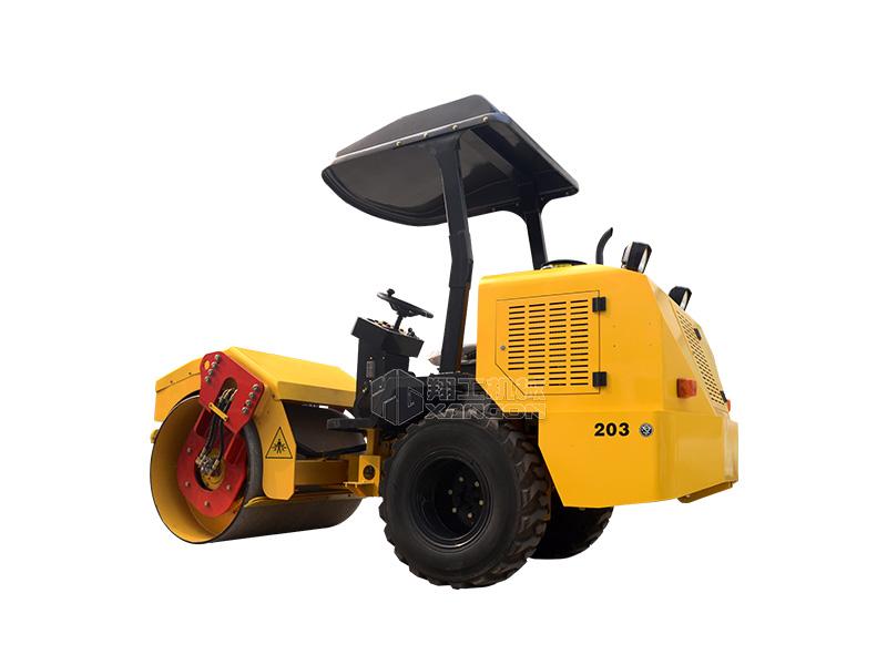 X203单钢轮小型压路机